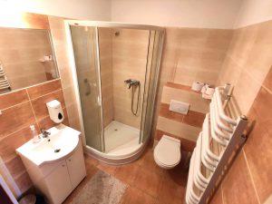 Łazienka w Hotelu Magnat